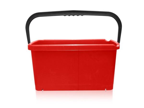 vending eimer viereckig mit ausgie ern rot 20 liter. Black Bedroom Furniture Sets. Home Design Ideas