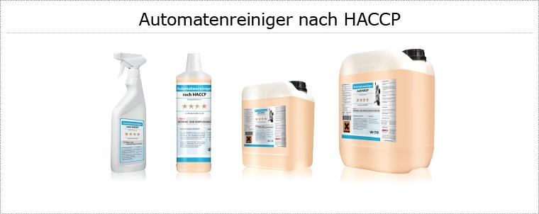 ChemieAutomatenreinigerHaccp